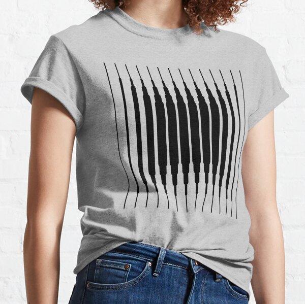 Square Lines (BLACK) Camiseta clásica