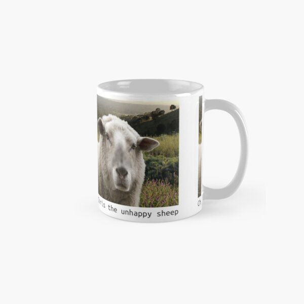 Chris The Unhappy Sheep Father Ted Classic Mug