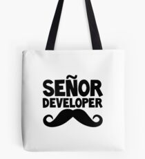 Senor Developer Tote Bag