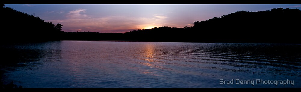 Sunset Pano  by Brad Denny Photography