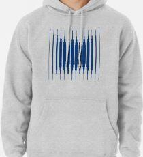 SQUARE LINE (BLUE) Sudadera con capucha