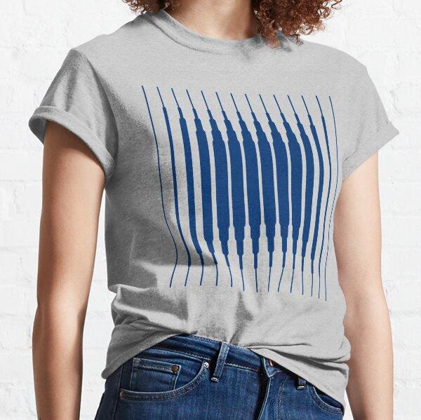 SQUARE LINE (BLUE) Camiseta clásica
