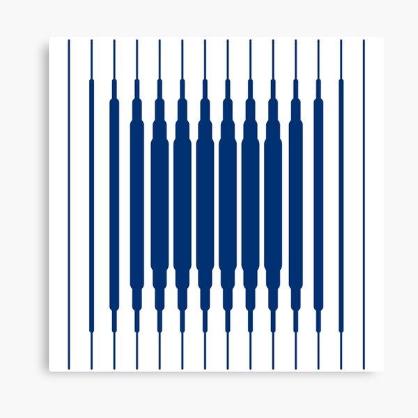 SQUARE LINE (BLUE) Lienzo