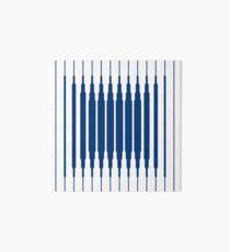 SQUARE LINE (BLUE) Lámina rígida