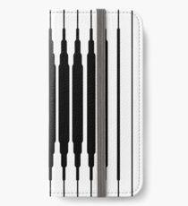 Square Lines (BLACK) Vinilo o funda para iPhone