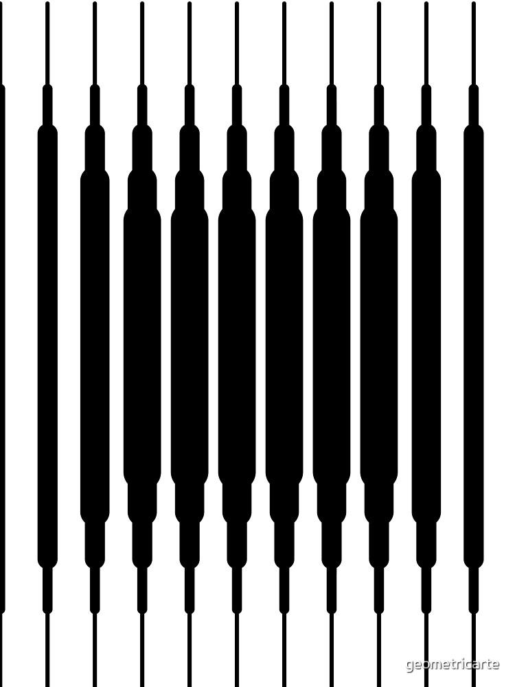 Square Lines (BLACK) de geometricarte