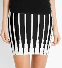 Square Lines (BLACK) Minifalda