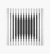 Square Lines (BLACK) Pañuelo
