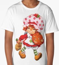 Strawberry Shortcake Retro 80s 1980s Halloween Trick or Treat Costume Long T-Shirt