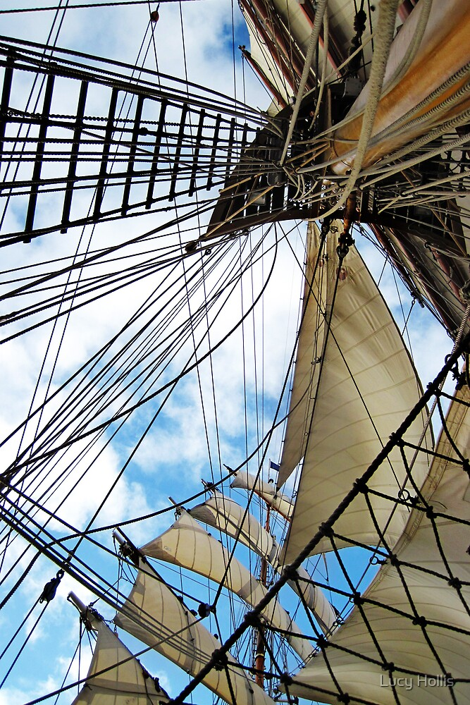 Up Through the Rigging by Lucy Hollis
