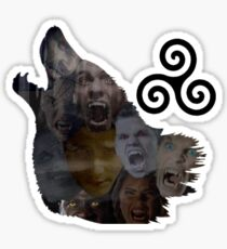 Teen Wolf Howl Sticker