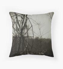 Chippewa Lake Park Throw Pillow