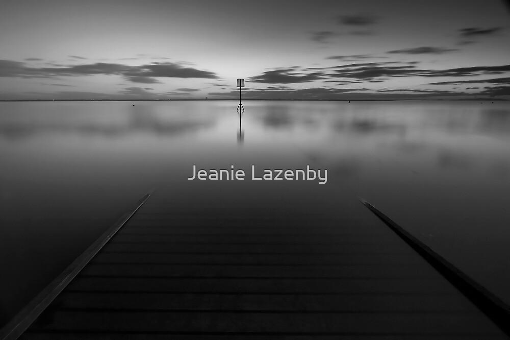 Lytham Jetty Mono by Jeanie