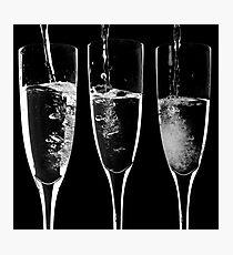 Champagne Photographic Print