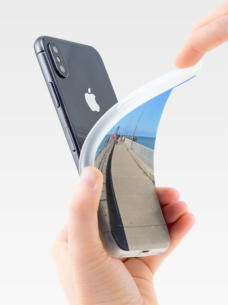 Alternate view of Fishing Platform iPhone Case & Cover
