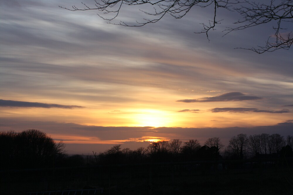 Sunset in Battle by craigwatts