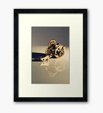Steampunk device Framed Print