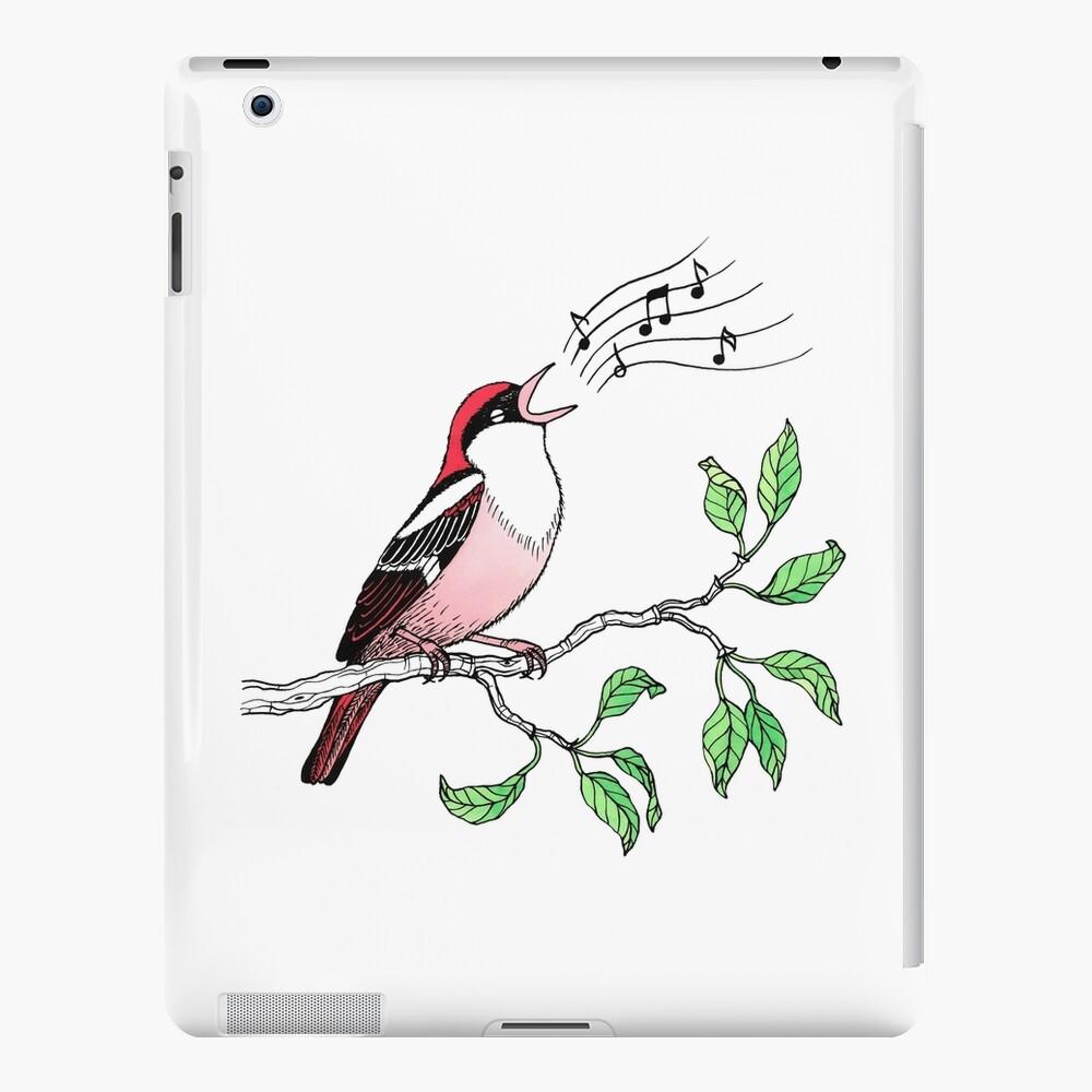 Singing Bird iPad Case & Skin