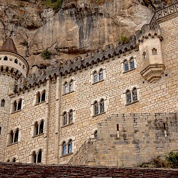 Medievil Building in the Village of Rocamadour  - Occitan - Lot Dept. - France by Buckwhite