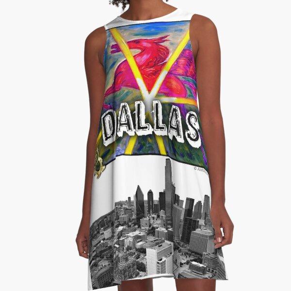 Dallas Pegasus A-Line Dress