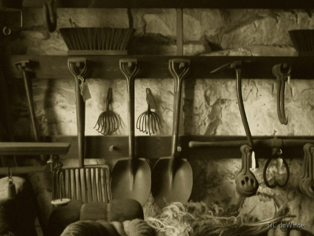 The Farmer's Toolshed by RC deWinter