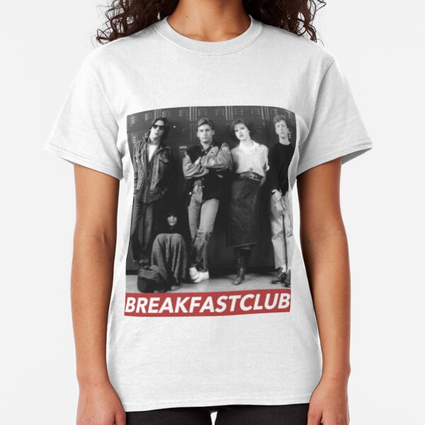 The Breakfast Club Movie Poster Womans Fitted T Shirt Classic Movie