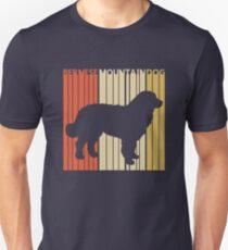 Vintage Retro Bernese Mountain Dog Unisex T-Shirt