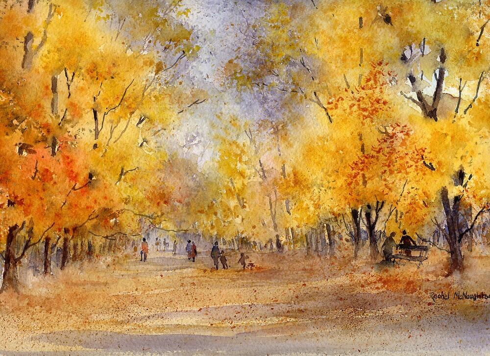 Autumn in the Park by artbyrachel