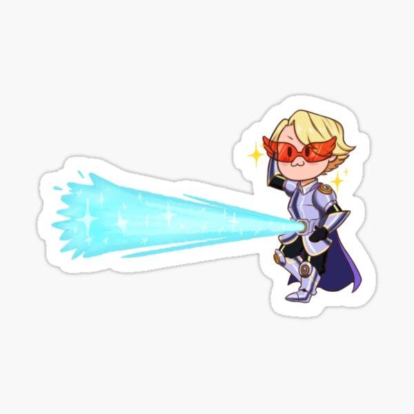 Aoyama Yuga Laser Sticker