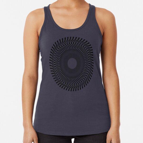 EYE 1 (BLACK) Camiseta con espalda nadadora