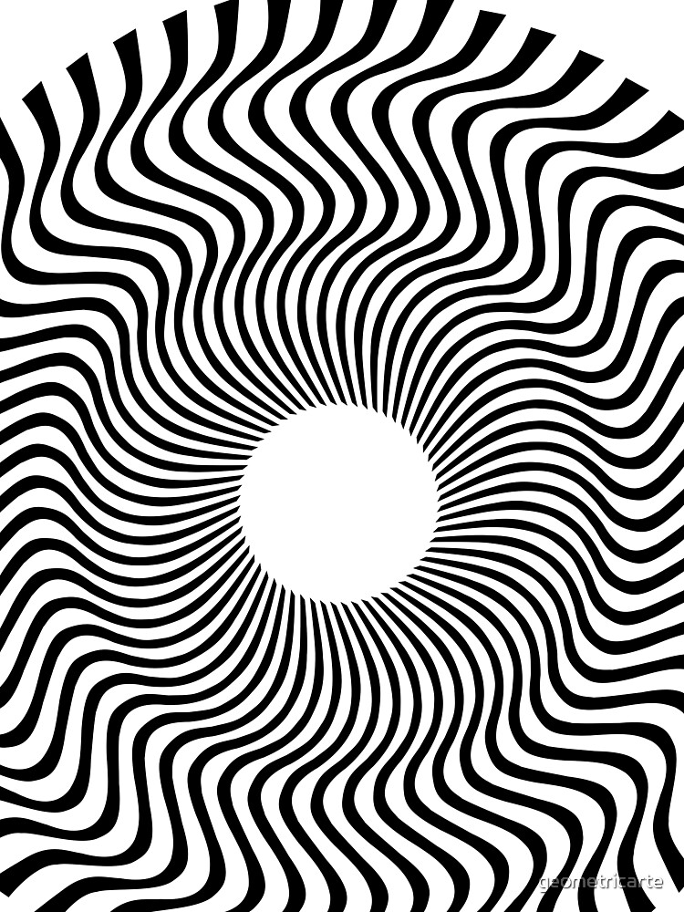 EYE 1 (BLACK) de geometricarte