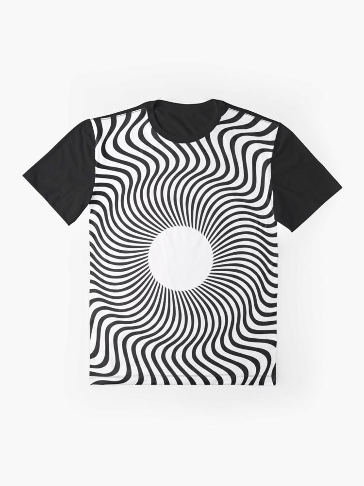 Vista alternativa de Camiseta gráfica EYE 1 (BLACK)