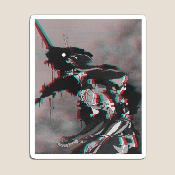 Neon Genesis Evangelion - Unit One - Glitch Rage Magnet