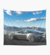 Aston Martin DB11 Wall Tapestry