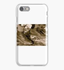 #583 Retro shoes #2 iPhone Case/Skin