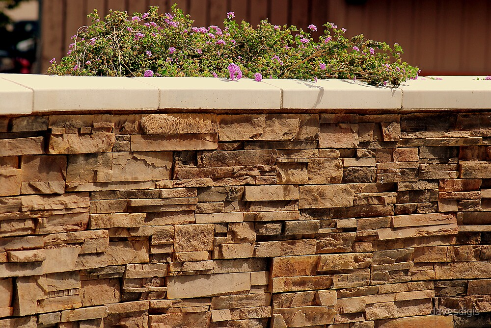 Handcrafted...............Cobble Wall by davesdigis