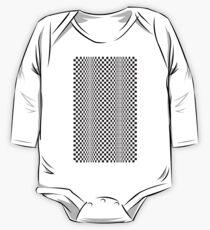 CINETI-K (BLACK) Body de manga larga para bebé
