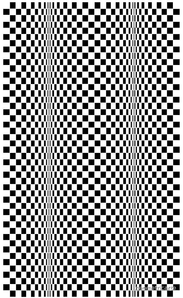 «CINETI-K (BLACK)» de geometricarte