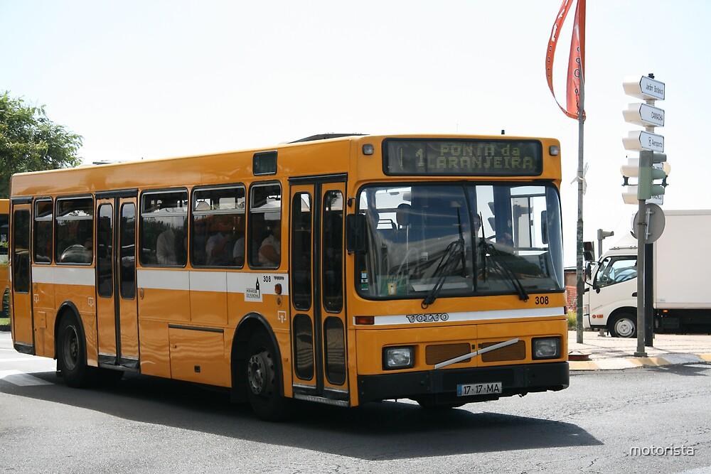 Horarios do Funchal (Madeira) bus 308 by motorista