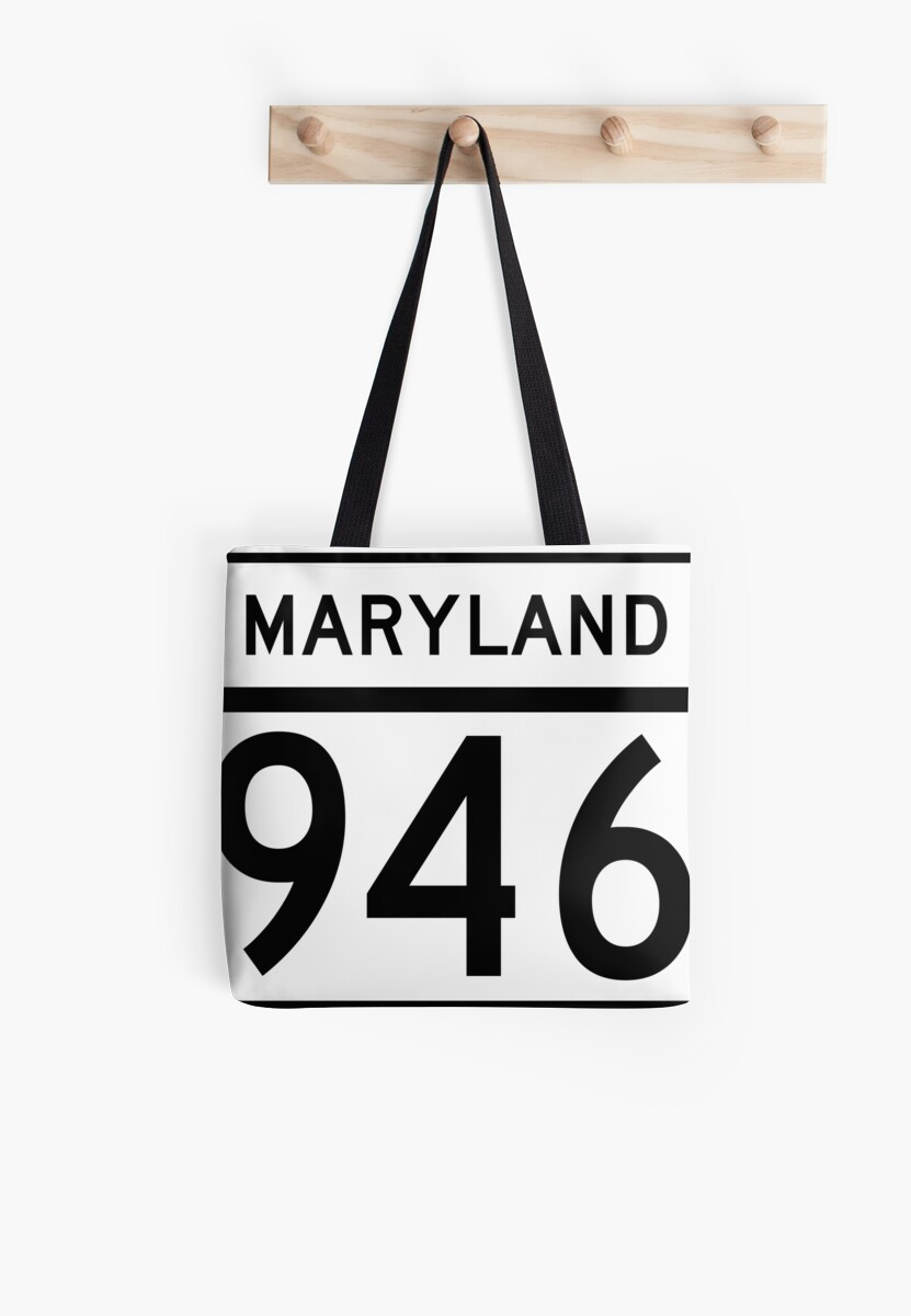 Maryland Route MD 946 | United States Highway Shield Sign Sticker by Scott Hamilton