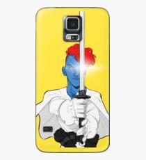 Gebrochener Stern Hülle & Klebefolie für Samsung Galaxy