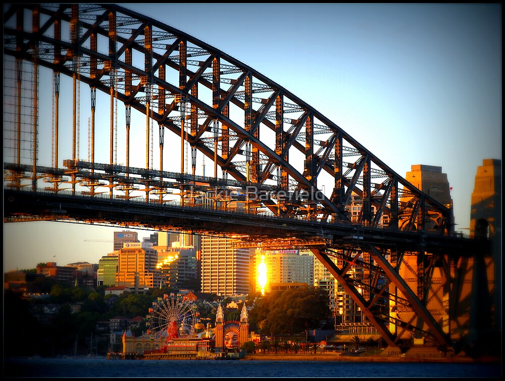 Sydney Harbour Bridge by Jackie Barefield
