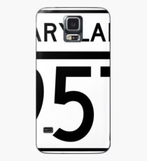 Maryland Route MD 957 | United States Highway Shield Sign Sticker Case/Skin for Samsung Galaxy