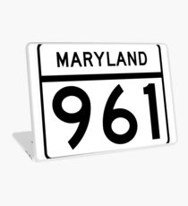 Maryland Route MD 961 | United States Highway Shield Sign Sticker Laptop Skin