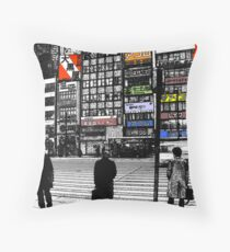 Japan Noir 3 Throw Pillow
