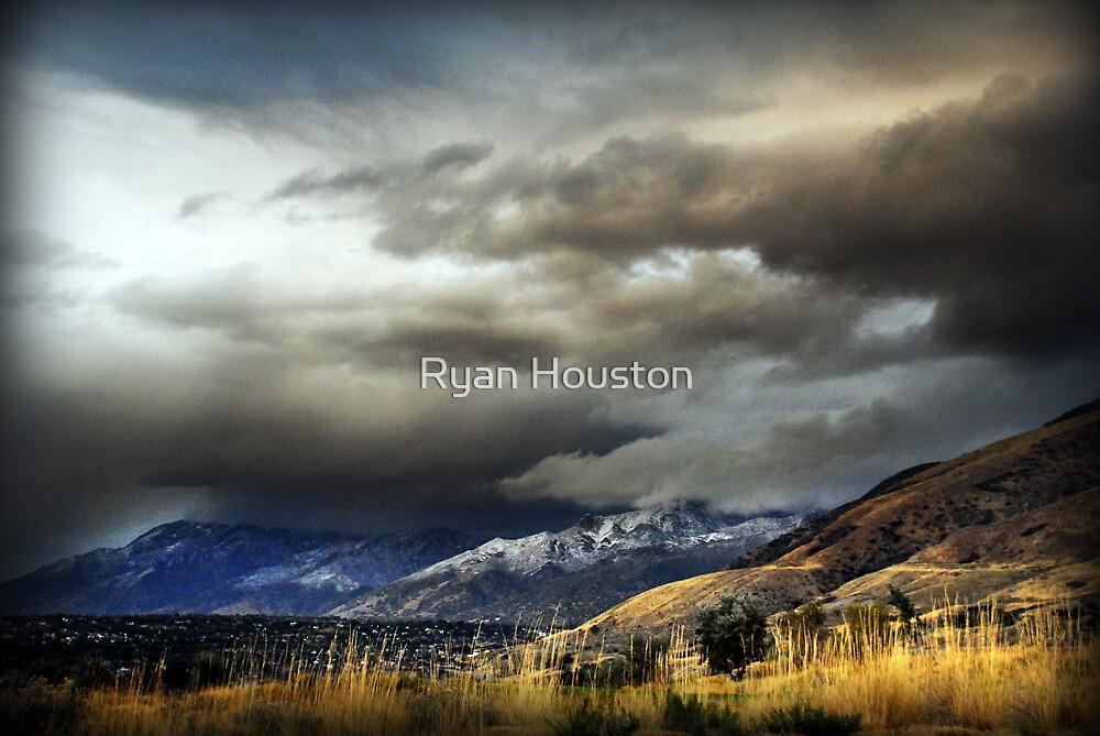 East Salt Lake Valley from Draper by Ryan Houston
