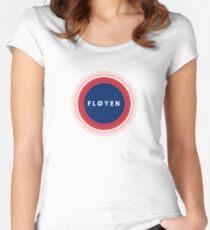 Fløyen Bergen Women's Fitted Scoop T-Shirt