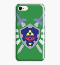 The hero of time, Link's shield iPhone Case/Skin