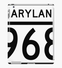 Maryland Route MD 968 | United States Highway Shield Sign Sticker iPad Case/Skin