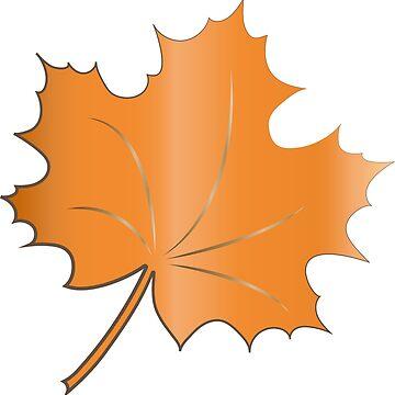 leaf by fun-tee-shirts